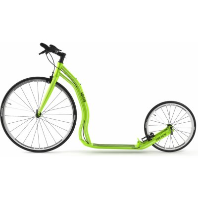 Koloběžka Yedoo Wolfer zelená